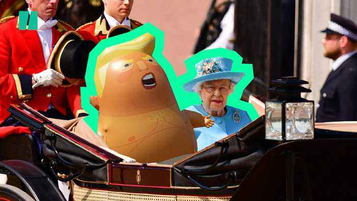 The Queen Invites Donald Trump To UK For State Visit