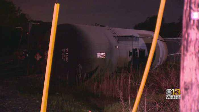 100 Gallons Of Diesel Oil Leaked After Sunday's Derailment