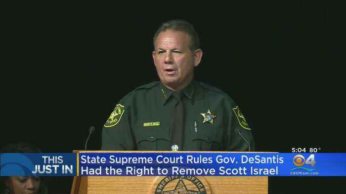 State Supreme Court Issues Defeat To Former BSO Sheriff Scott Israel