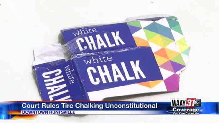 Court rules tire chalking unconstitutional