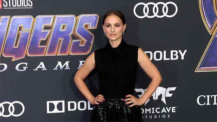 Natalie Portman 'Avengers: Endgame' World Premiere Purple Carpet