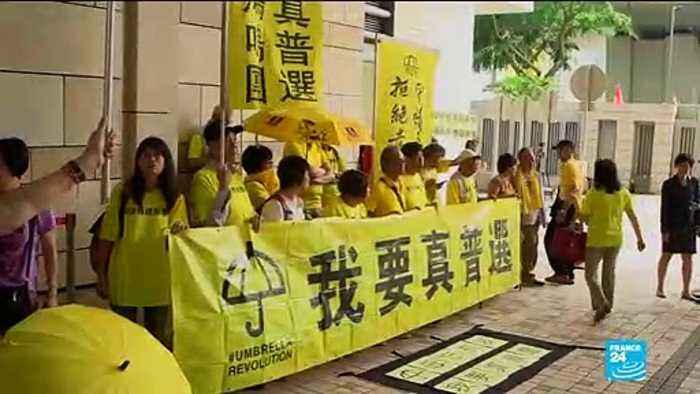 Four Hong Kong occupy movement activists sentenced to jail over 2014 protests