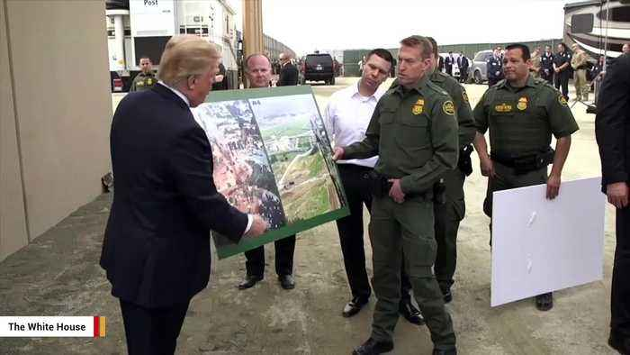 Trump Claims Mexico's Soldiers Pulled Guns On US National Guard, Threatens To Close Border