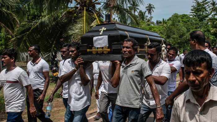 Sri Lanka Holds Mass Funerals For Victims Of Sunday's Terror Attacks