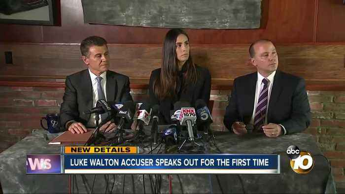 Luke Walton's accuser speaks out for the first time