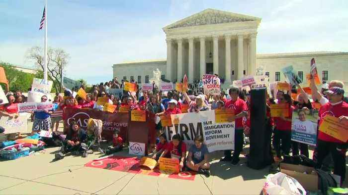 Trump on track for Supreme Court victory on census