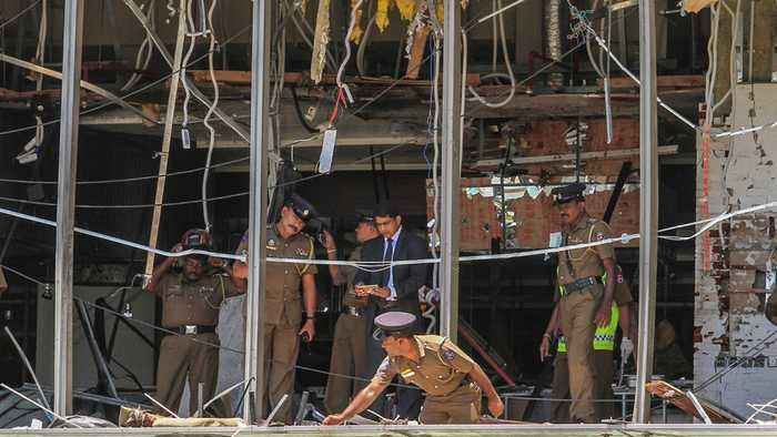 Islamic State Claims Responsibility For Sri Lanka Bombings