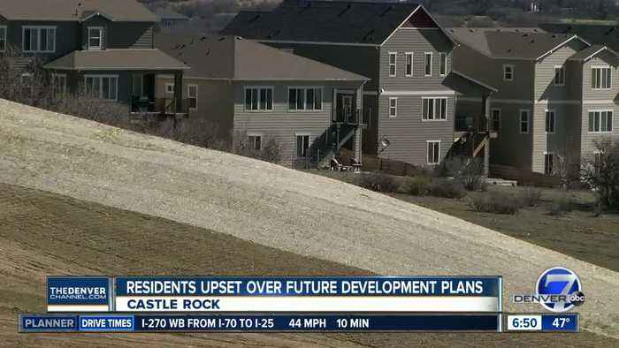 Residents in Castle Rock neighborhood fighting to keep apartment complex from being built