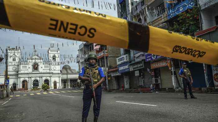 Sri Lanka's President Calls On Top Security Officials To Resign