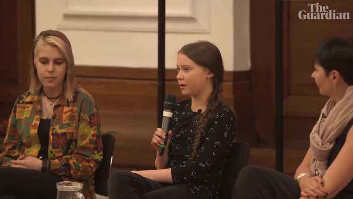 'This is an emergency': Greta Thunberg speaks at Guardian Live