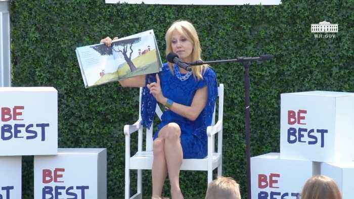 Kellyanne Conway's Reading of 'Big Friends'