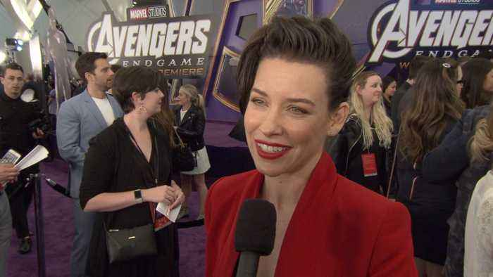 'Avengers: Endgame' Premiere: The Wasp-Evangeline Lilly