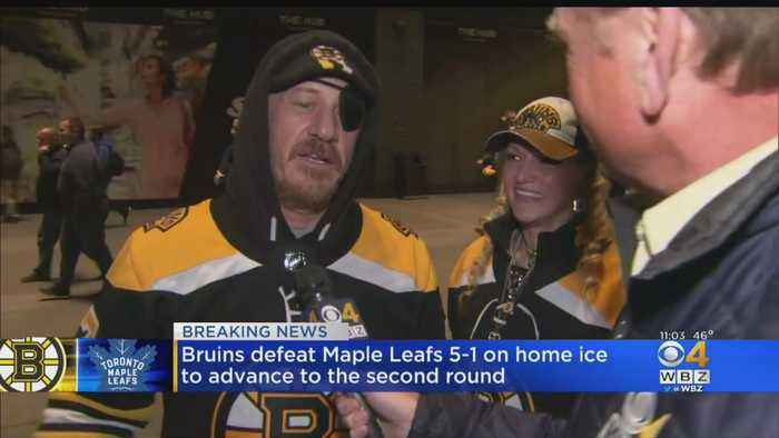 'It Was Insane': Bruins Fans Celebrate Game 7 Win Over Leafs