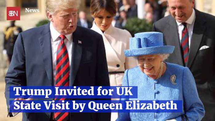 The Queen Invites President Trump For A Royal Visit