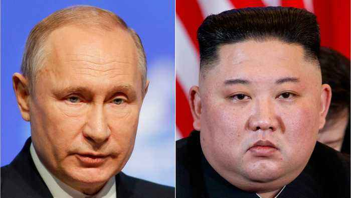 Kim Jong Un Goes To Russia To Meet Putin