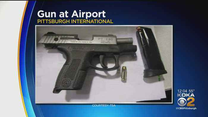 Third Gun Confiscated At Pittsburgh International Airport This Week