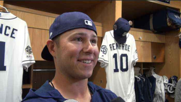 Padres infielder Ty France on getting called to big leagues; manager Andy Green on role