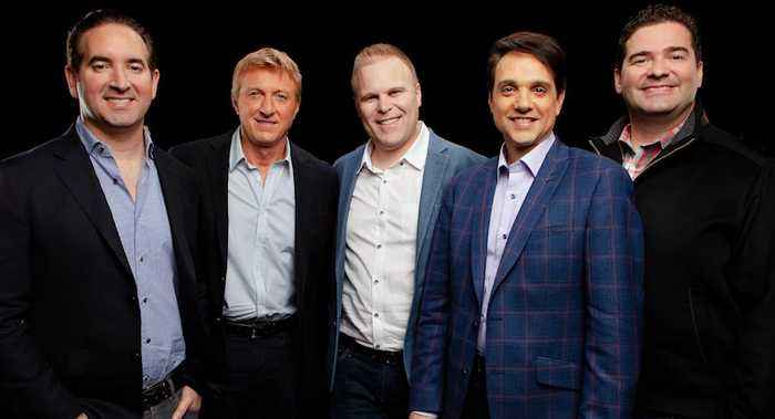 William Zabka, Ralph Macchio, Jon Hurwitz, Josh Heald & Hayden Schlossberg On Season 2 Of 'Cobra Kai'