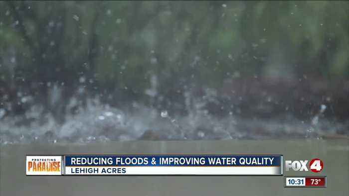 Stormwater storage and water quality project complete in Lehigh Acres