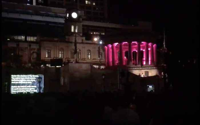 Brisbane City Marks Anzac Day With Dawn Services