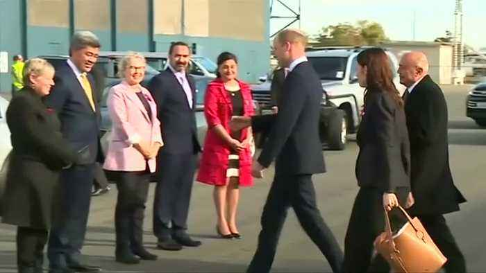 Britain's Prince William visits New Zealand's Christchurch