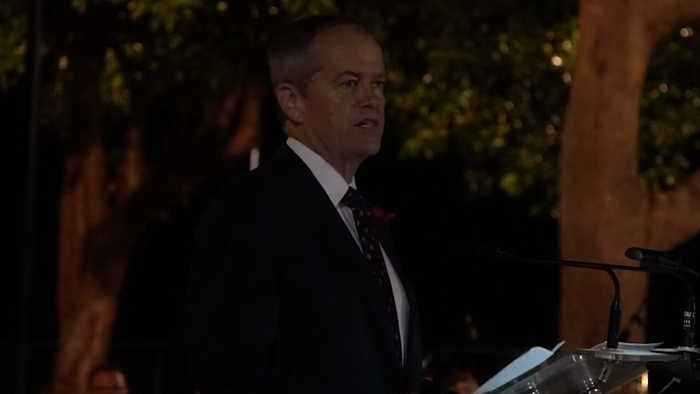 Bill Shorten Says Australia Must 'Do Better' To Help Veterans in Anzac Day Speech