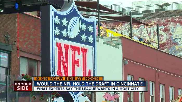 Would NFL hold a draft in Cincinnati?