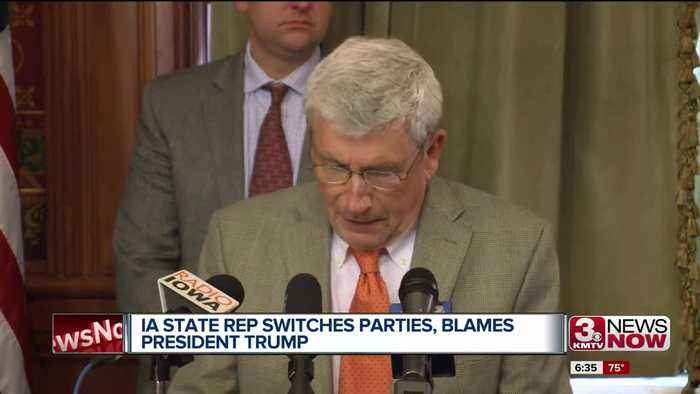 Longest Serving IA Rep. Switches Parties