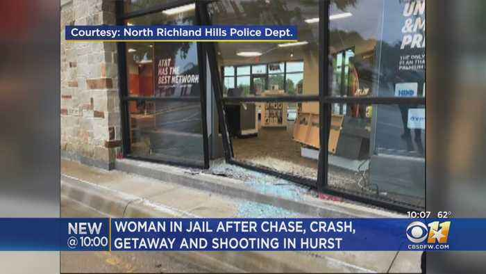 Chase, Crash And Arrest In Tarrant County