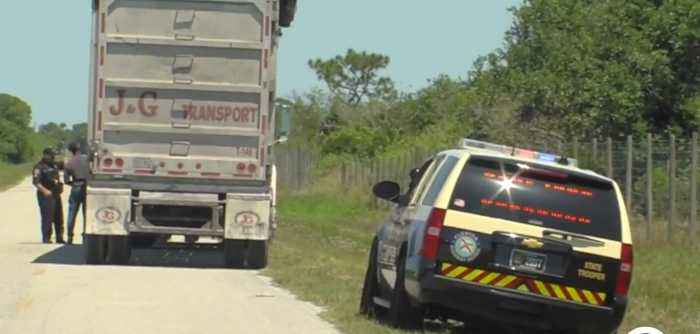 Operation Heavy Weights: Okeechobee County sheriff cracking down on truck drivers breaking the law, causing various safety conce