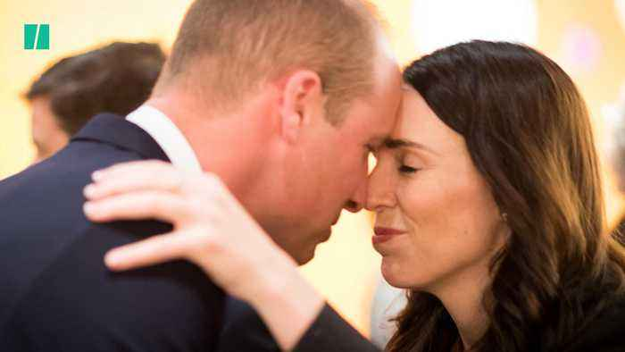 Prince William Commemorates Anzac Day And Visits Christchurch