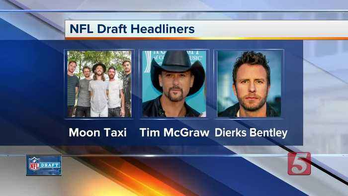 NFL Draft includes free music performances