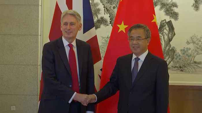 Chancellor meets Chinese vice premier in Beijing