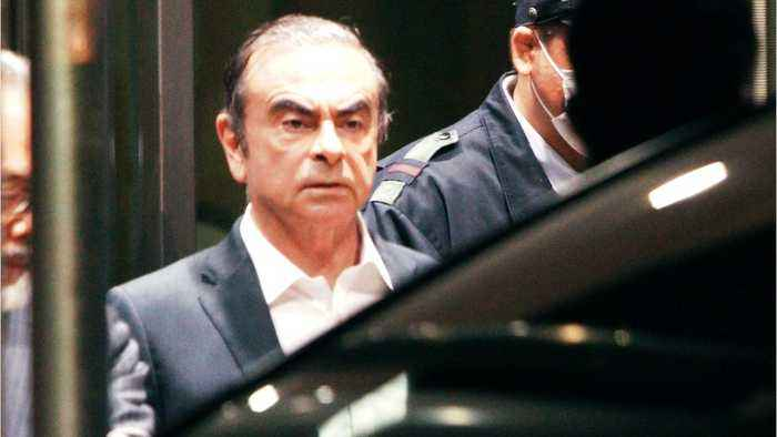 Ex-Nissan Boss Ghosn Posts $4.5 Million Bail, Released From Jail