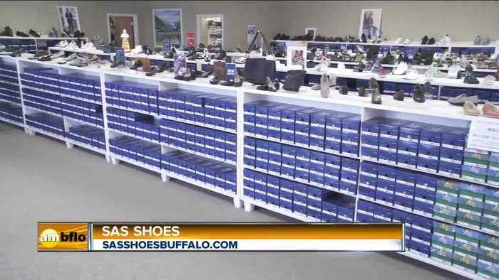 Get Professionally Measured at Fitted at SAS Shoes