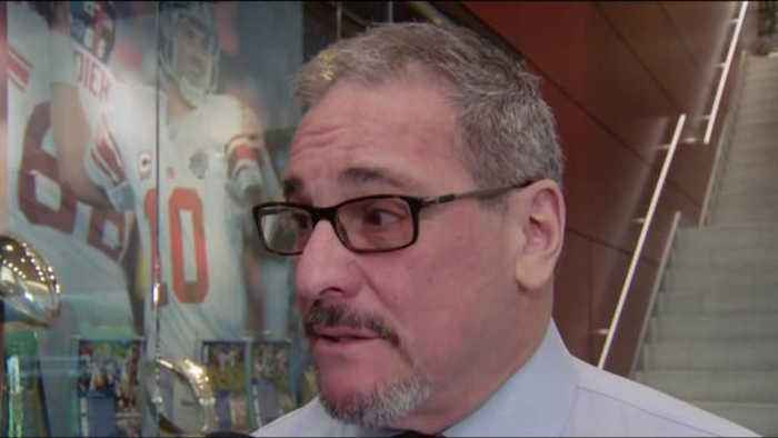 New York Giants general manager Dave Gettleman: The goal is to draft two instant starters in first round