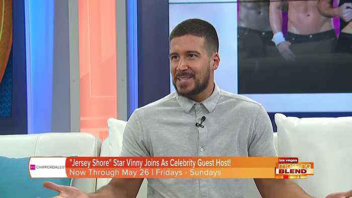 'Jersey Shore' Star Vinny Joins 'Chippendales'