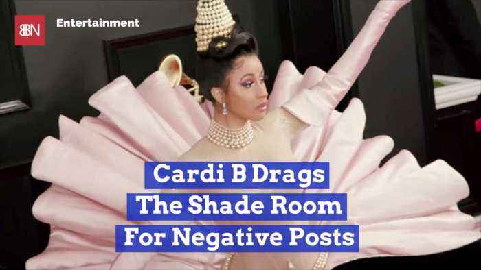Cardi B Has A Big Issue With The Shade Room