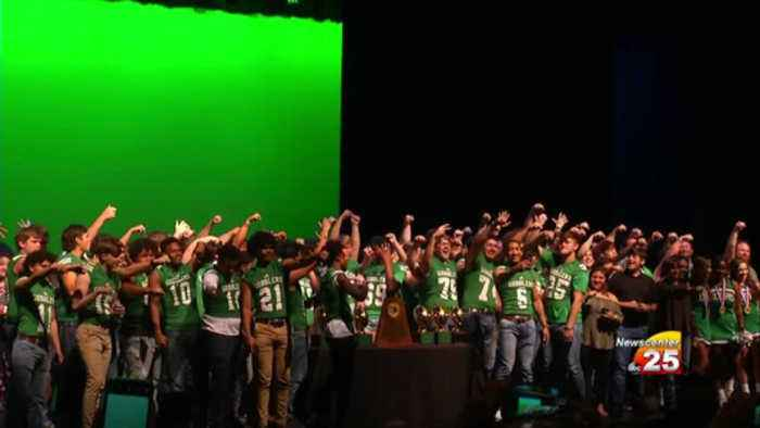 Gobblers receive State Championship rings