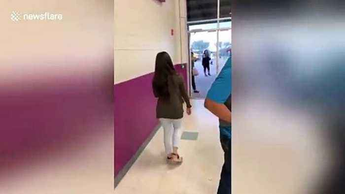 Texas high schooler surprised with 'Horses in the back' themed prom-posal