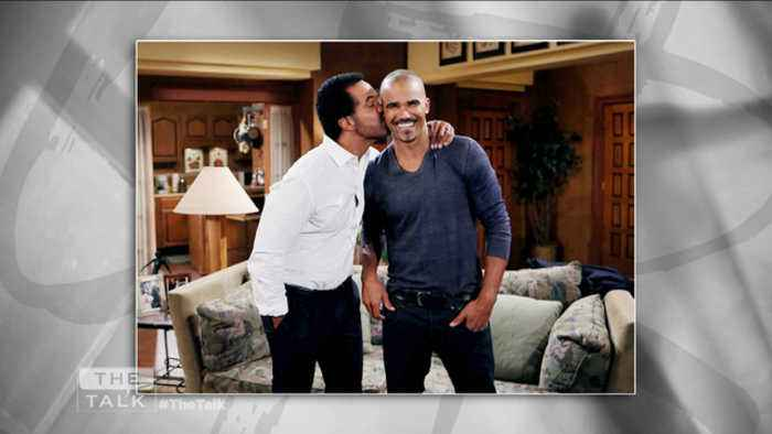Sneak Peek: Shemar Moore on 'Y&R' Kristoff St. John Tribute