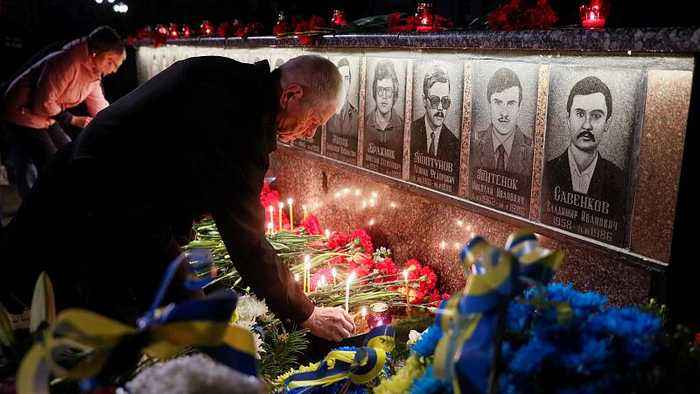 Ukraine commemorates Chernobyl nuclear disaster anniversary