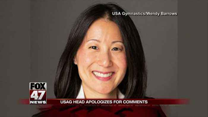 USA Gymnastics president apologizes for Nassar comments