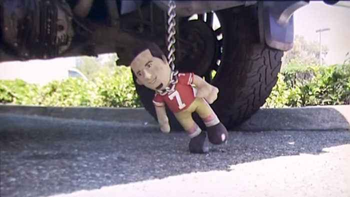 Raiders Fan Criticized for Hanging Kaepernick Doll from Truck