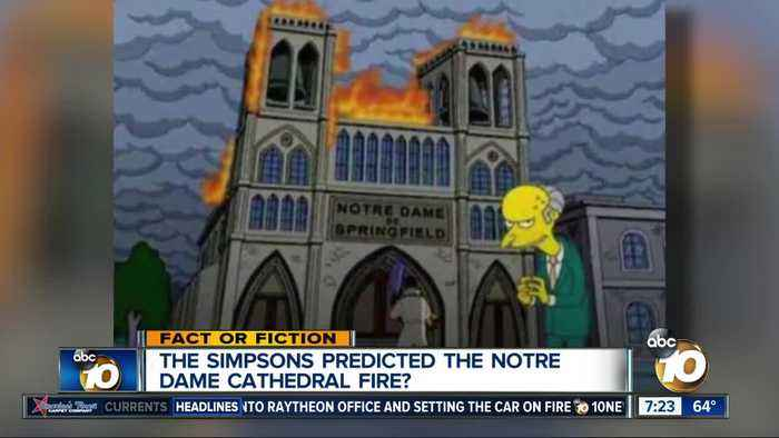 The Simpsons predicted the Notre Dame fire?