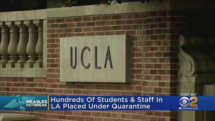 Measles Outbreak Spreads To California Universities