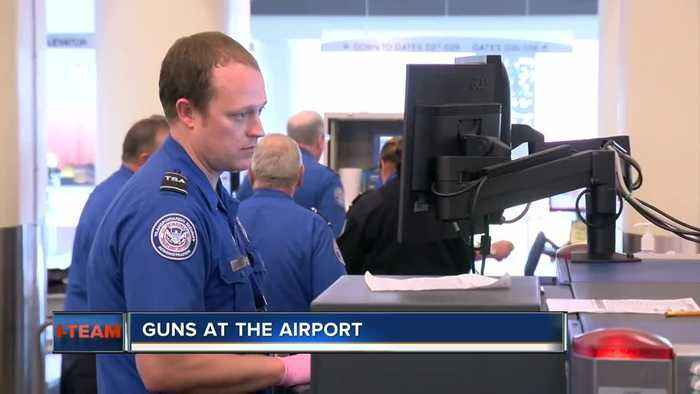 Milwaukee Mitchell International Airport adds to record year for guns found at airport checkpoints