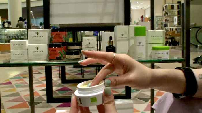 Customers Drawn to Cosmetics Featuring Cannabis-Derived Compound CBD