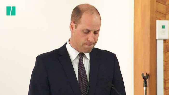 Prince William Visits Christchurch Mosques In New Zealand