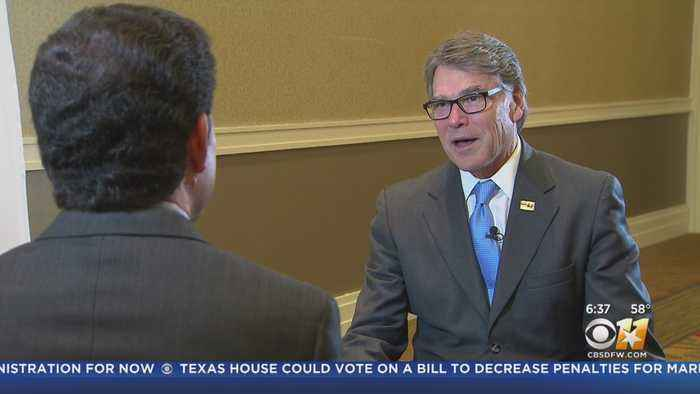 Energy Secretary Rick Perry In Dallas For Earth X